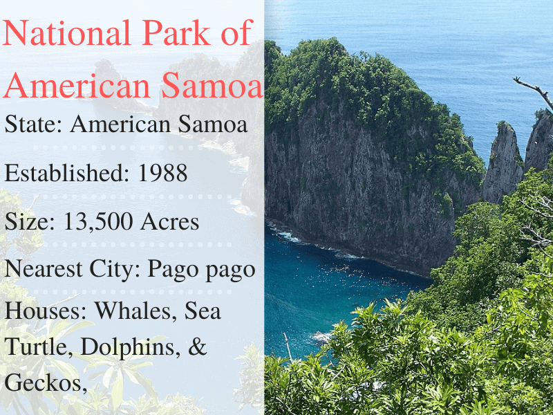 American Samoa National Park Facts