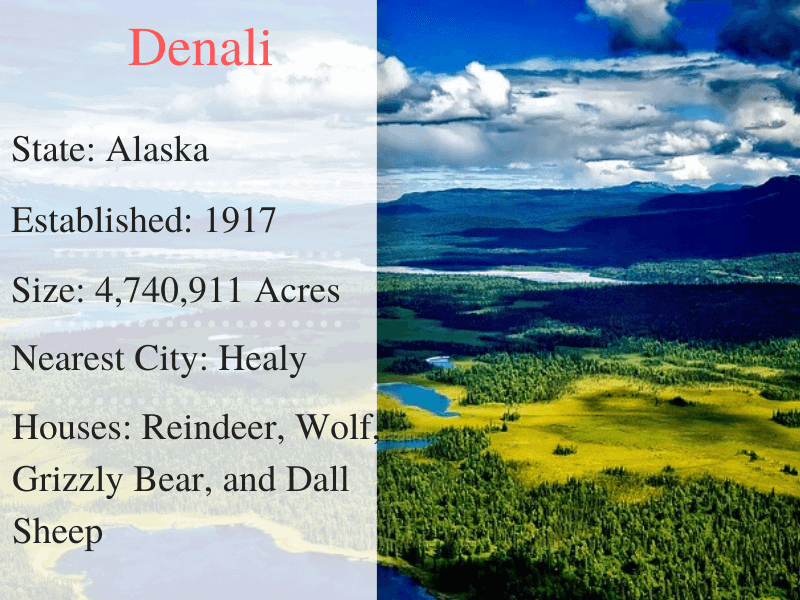 Denali National Park Facts
